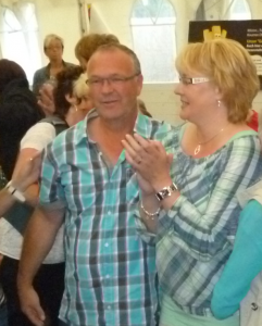 König Heinz mit Königin Monika