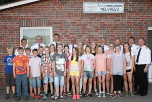 Schützenfest Kinderthron 2015