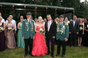 Schützenfestmontag Königspaar Lammers 2015